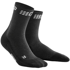 cep Winter Short Socks Women grey/black